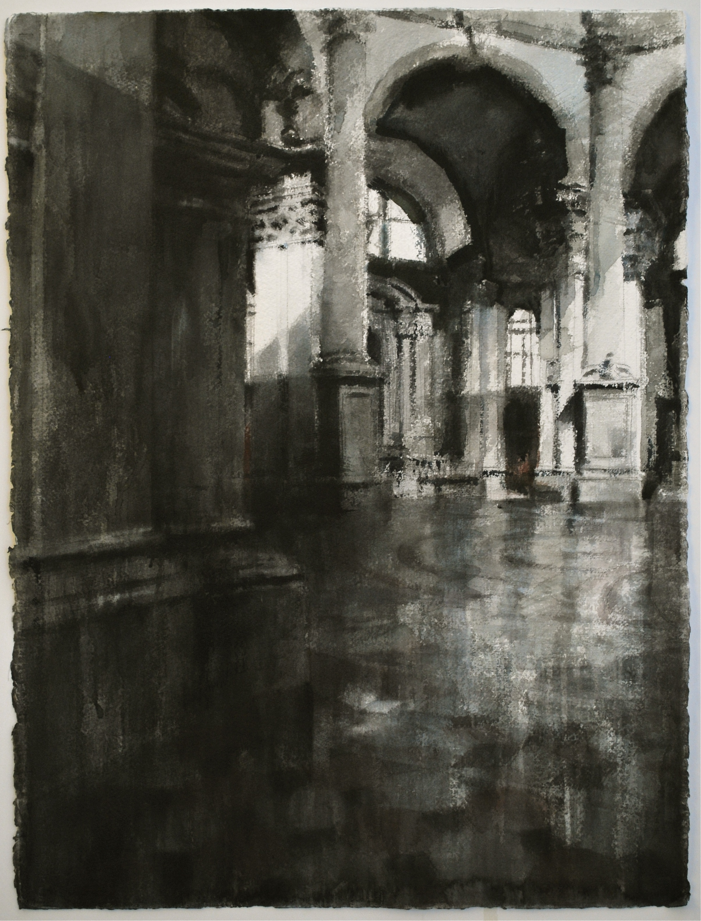 Santa Maria Della Salute, 22x30 inches, (Private Collection)