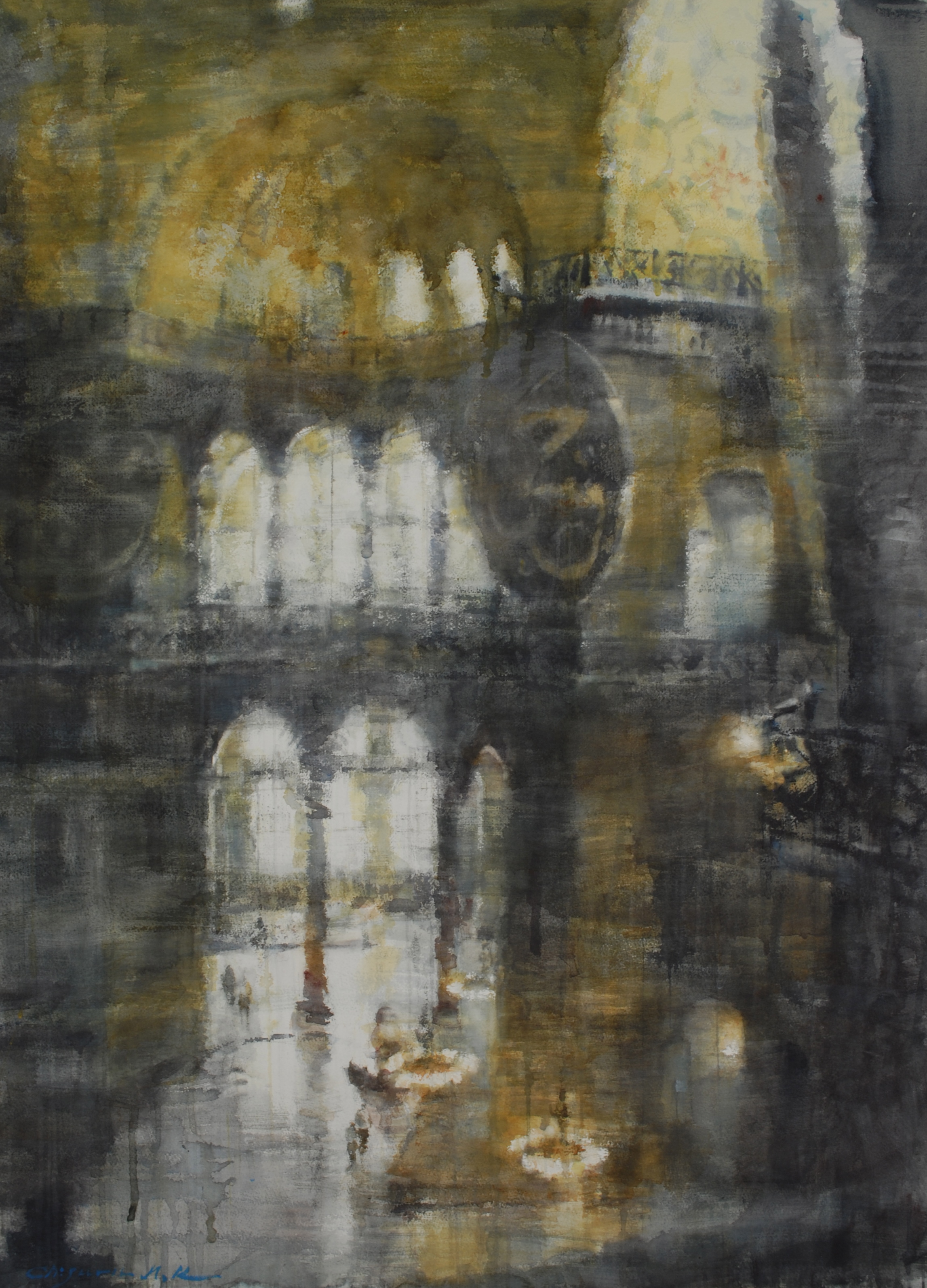 Aya Sofia II, 29x41 inches