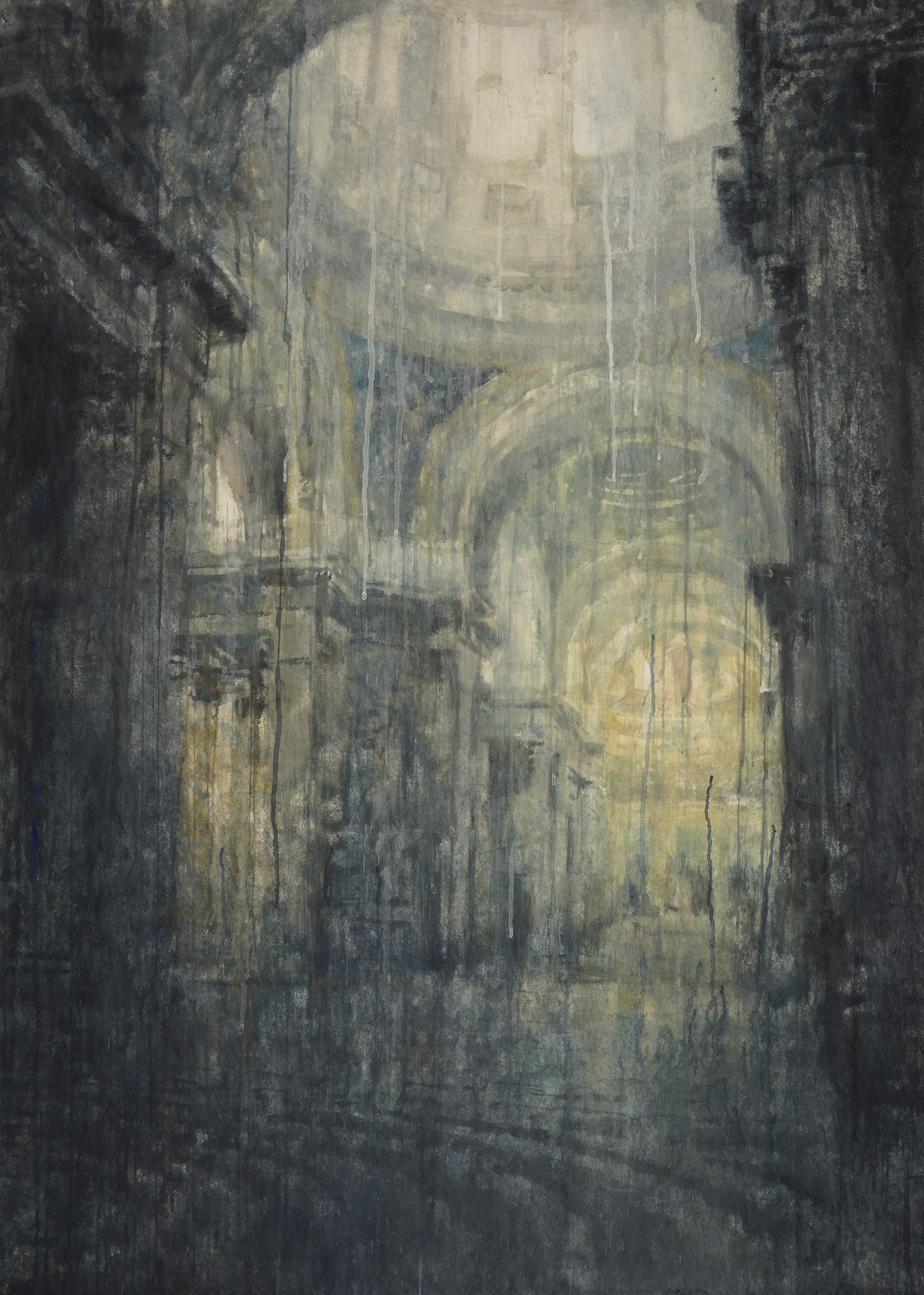 Pantheon, Paris II, 62X45, inches