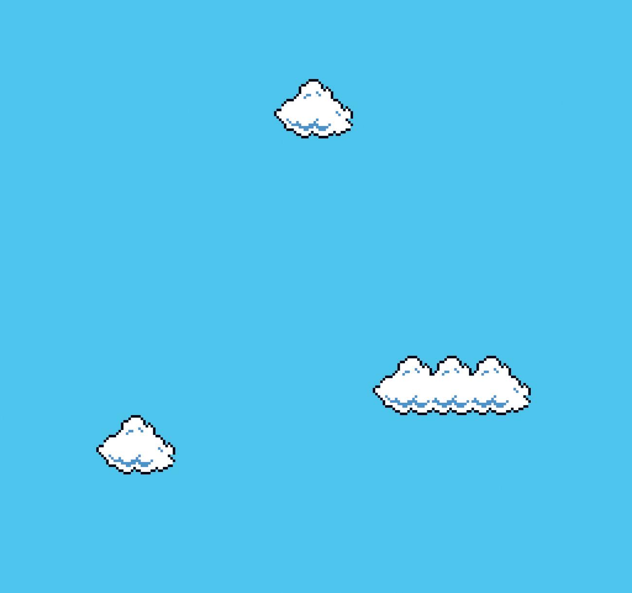 Cory Archangel, Super Mario Clouds, 2002
