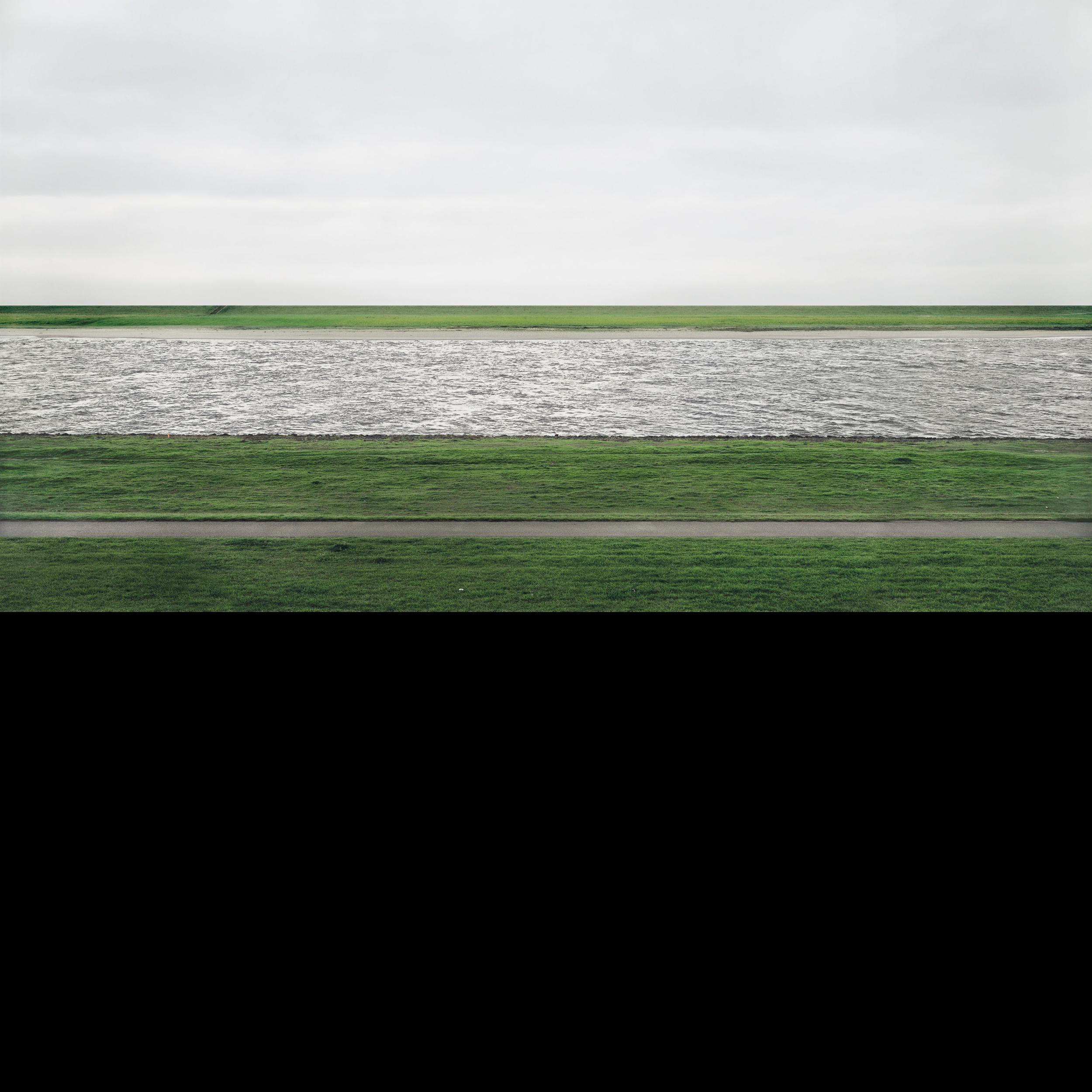 Andreas Gursky,The Rhine II, 1999