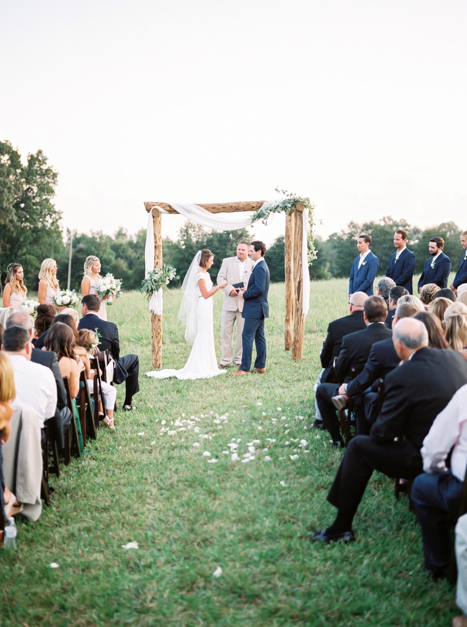 reading vows in ceremony idea