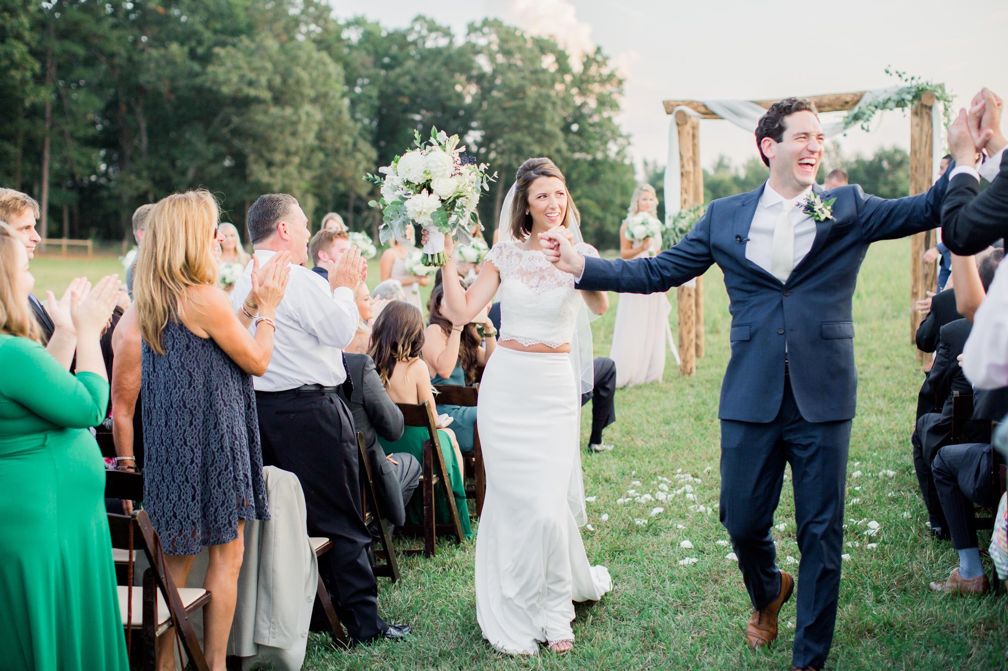 wedding ceremony exit idea