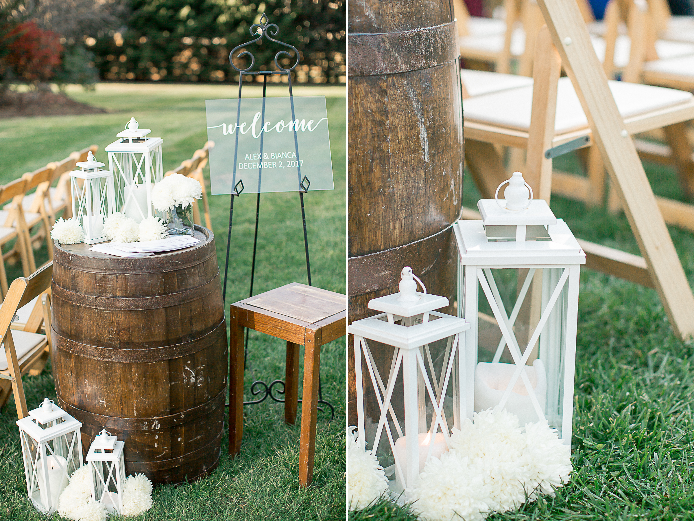 wedding inspiration decoration and details Mountain Wedding Andrews, NC
