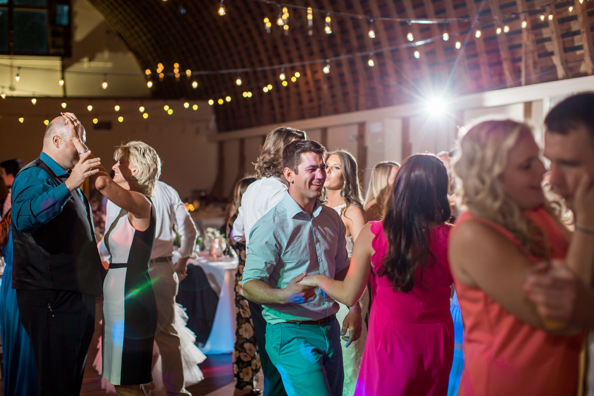 dance floor at wedding