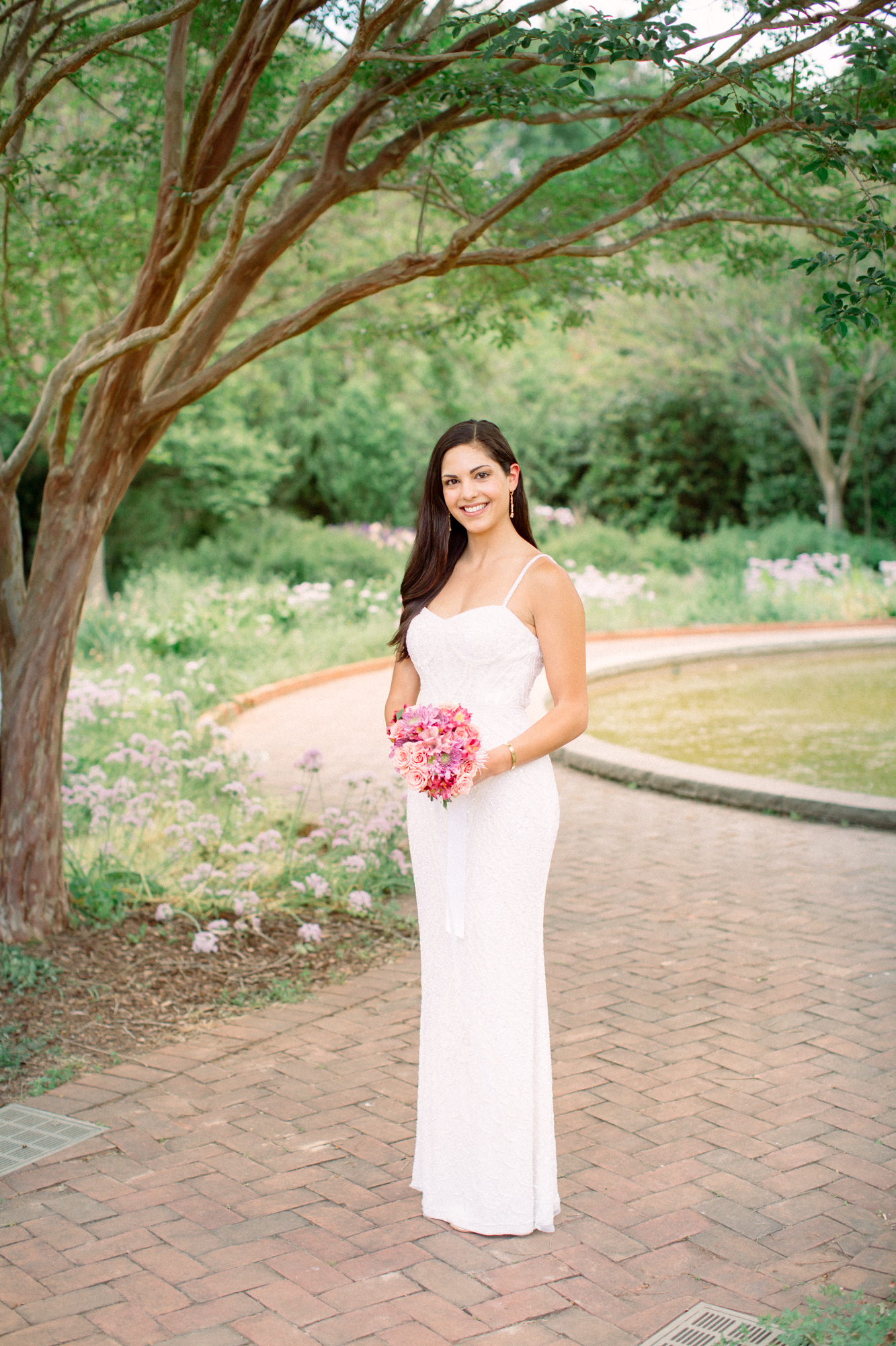 charlotte wedding photographer, bridal portrait on film