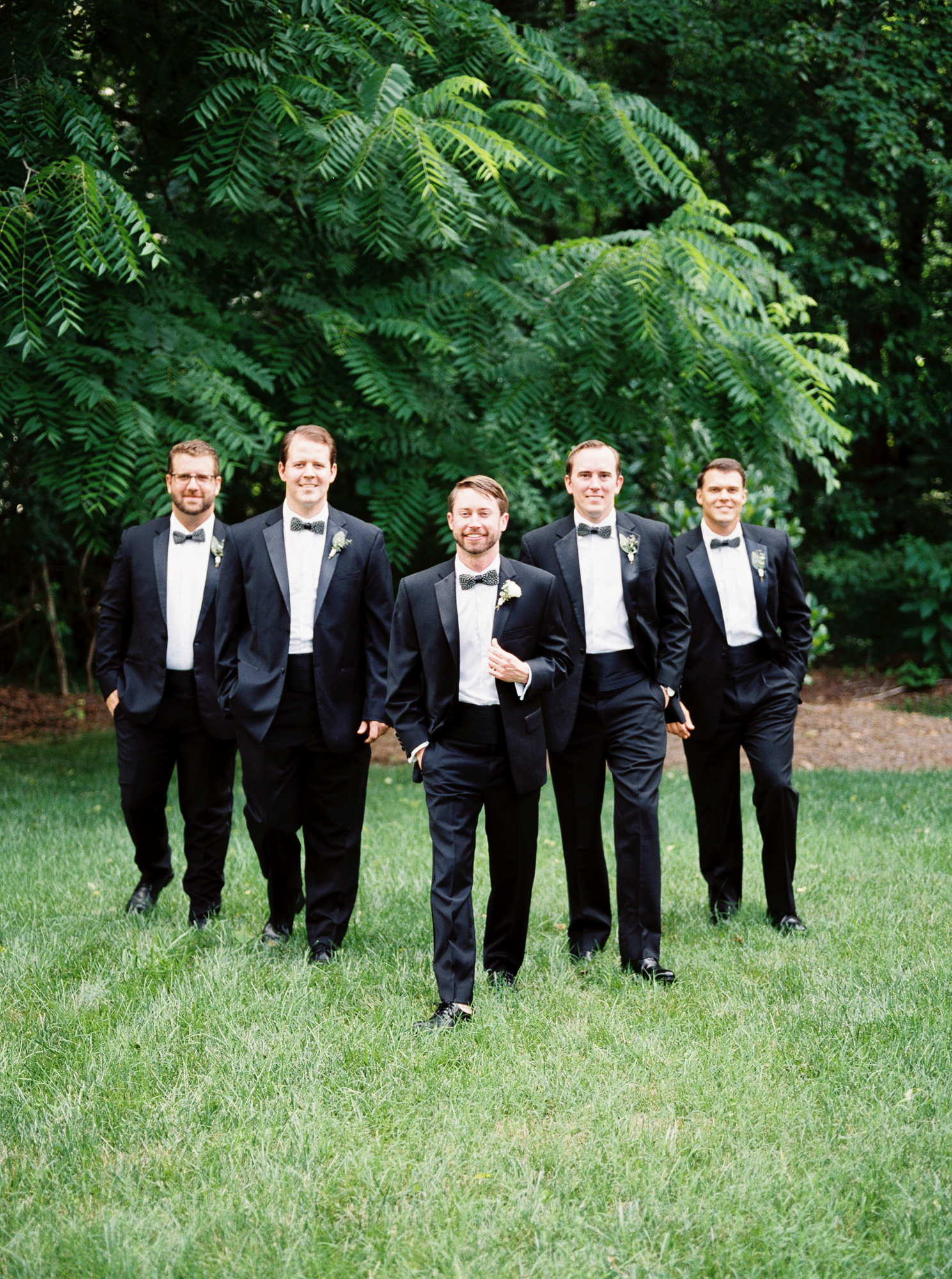 groomsmen at mims house
