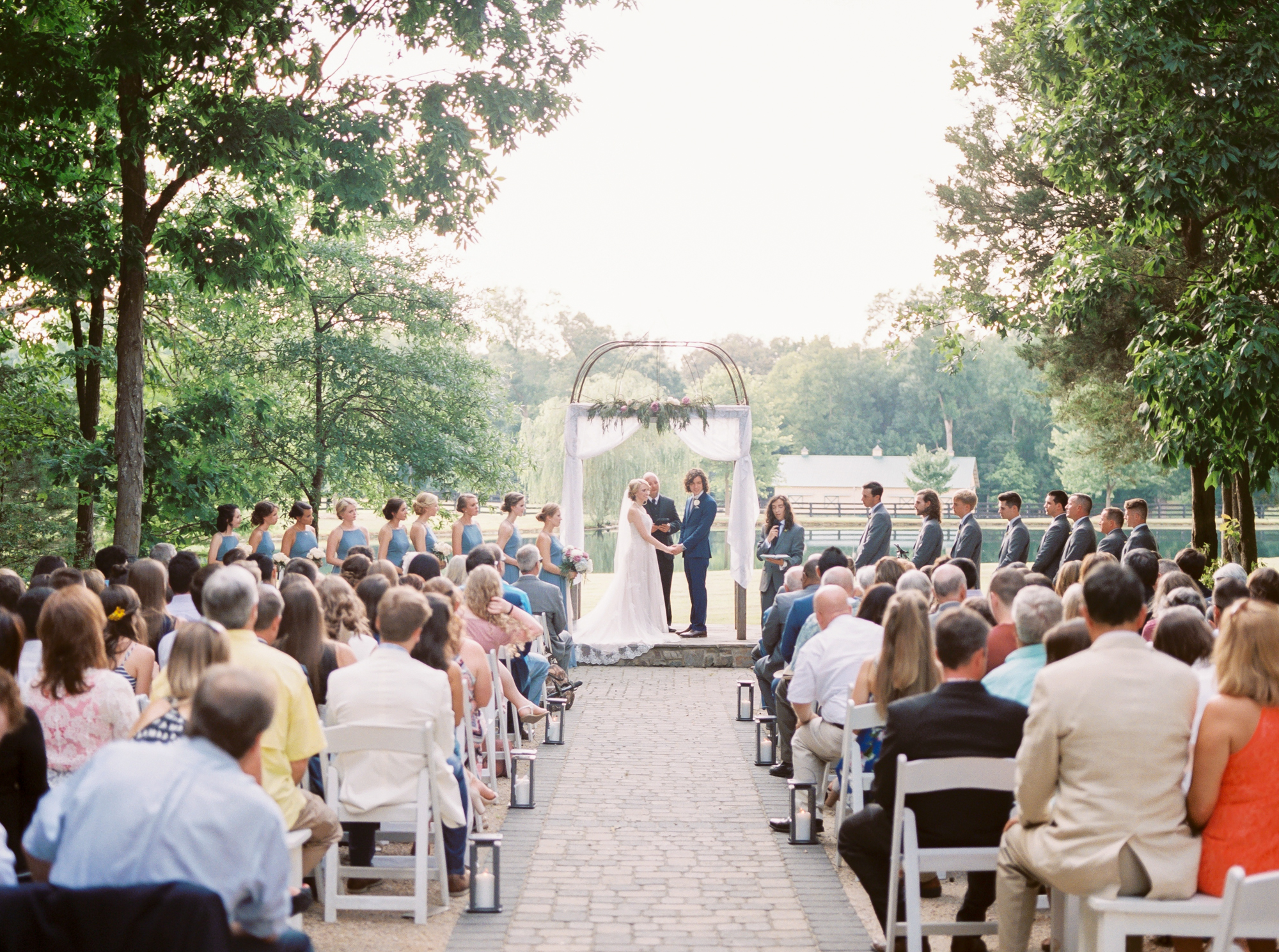 morning glory farm summer wedding