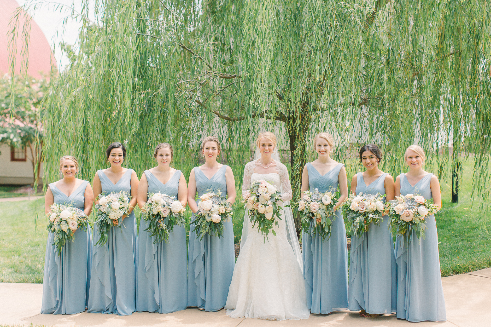 blue bridesmaid dresses ideas