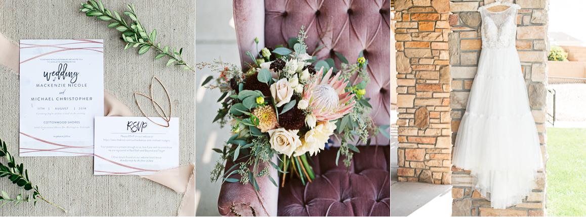 colorado boho bride details