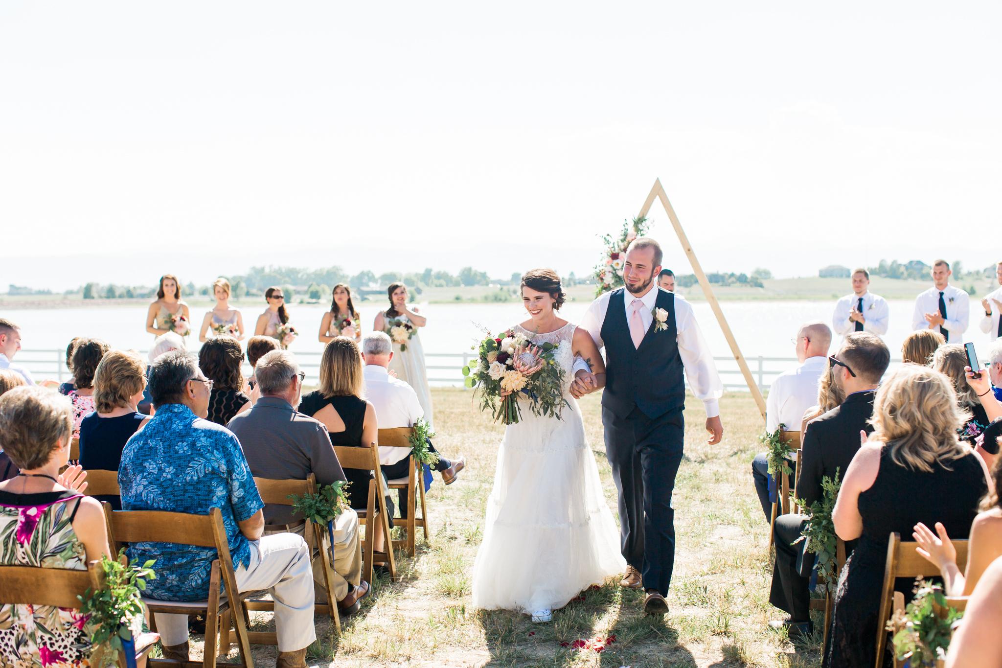 colorado mountain boho wedding