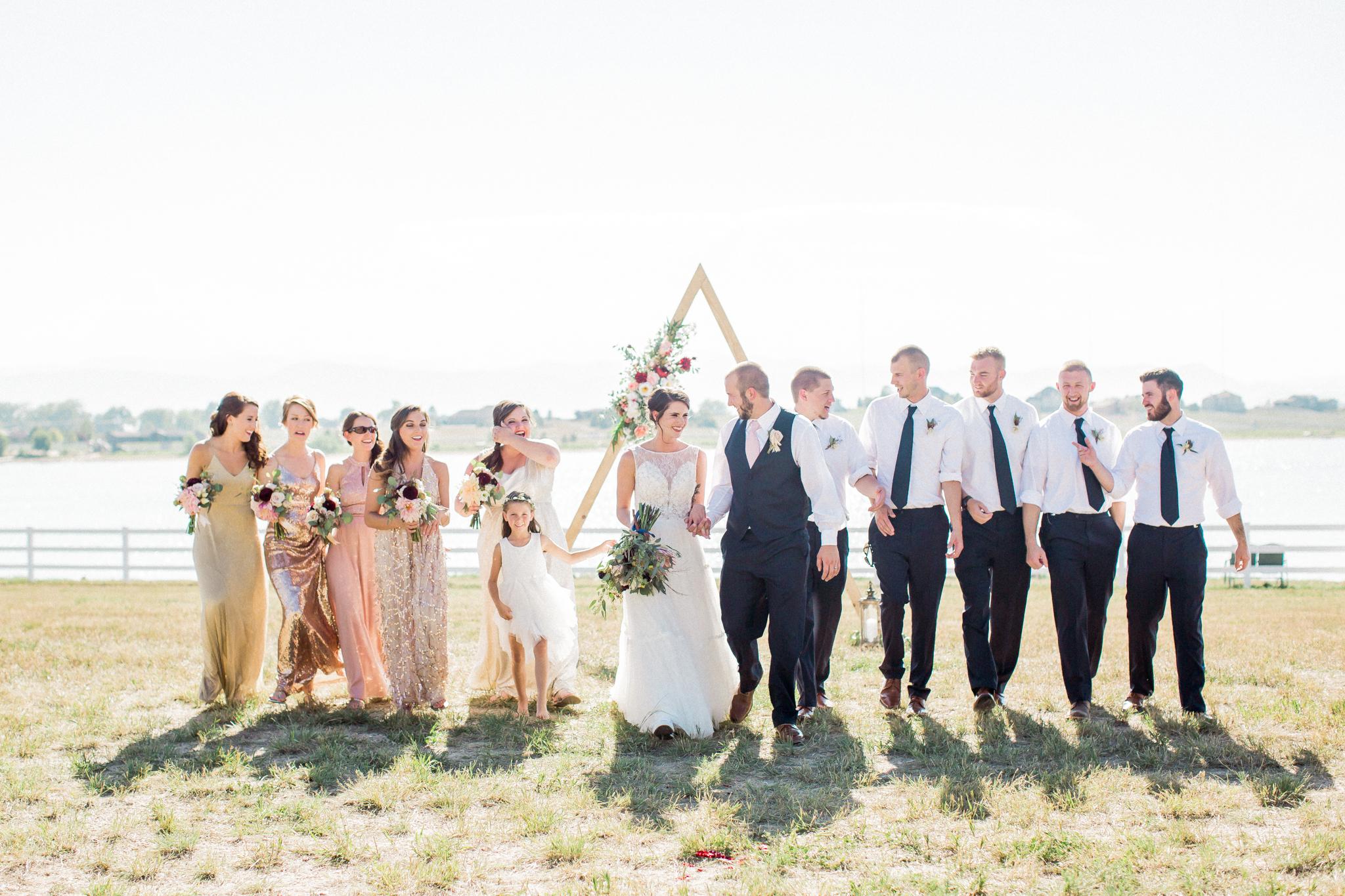 Bridal Party colors