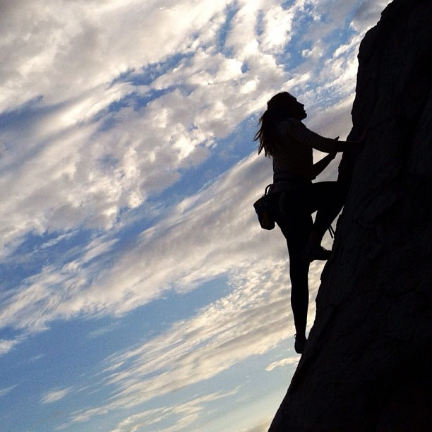 Overcoming fears.
