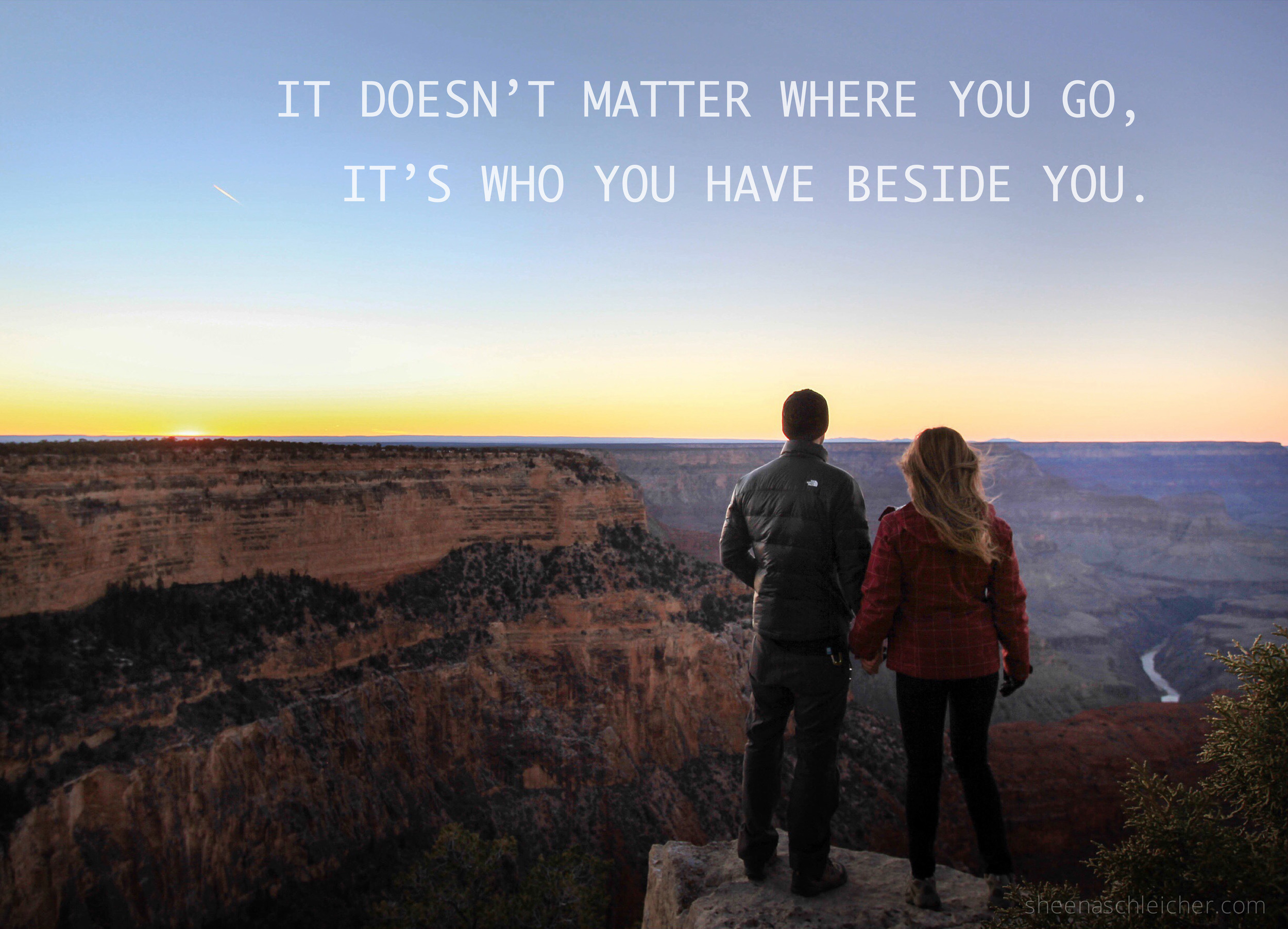 Travel Together. #grandcanyon #life #quote #adventure