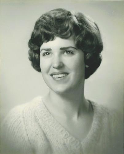 College Era Portrait, University of Michigan, 1960-1963