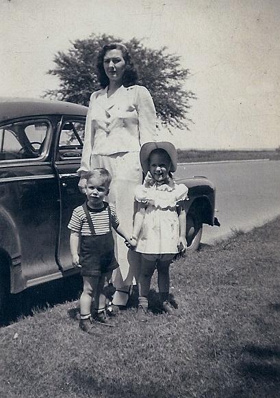 Paul and Carolaine with Mom