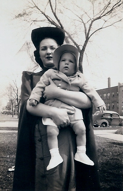 Carolaine with Mom