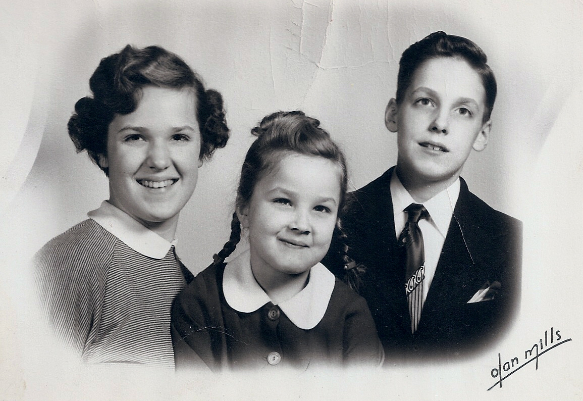 Carolaine (about 12 yrs old), me, and Paul