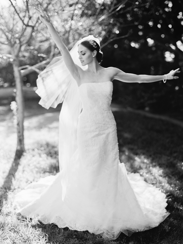 Ballerina bridal photography