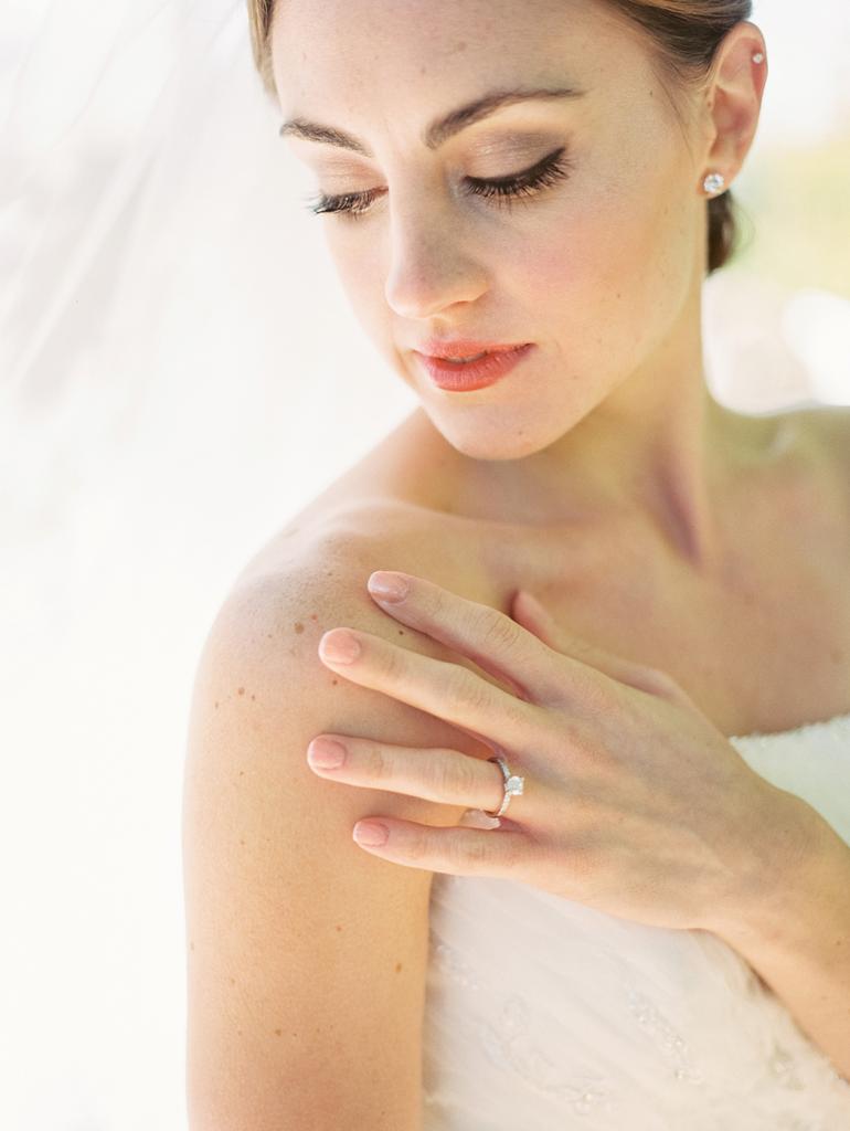 Fine art film wedding photography Texas