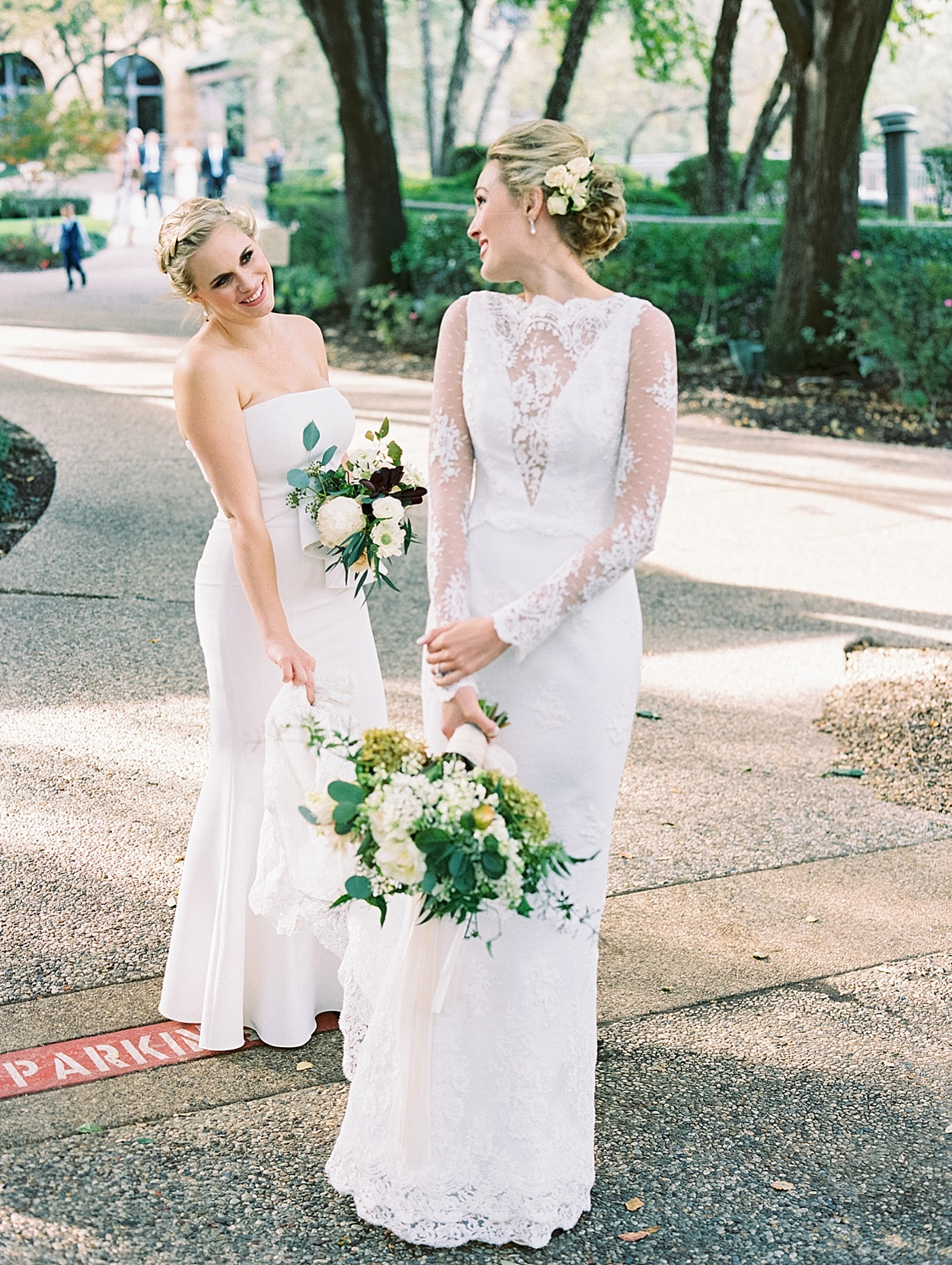 Chic White Wedding