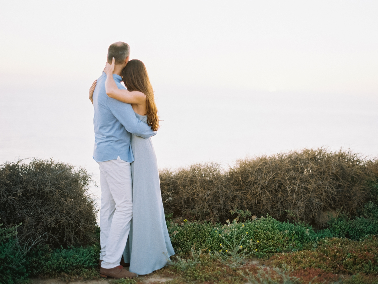 Becca Lea Photography, Fine art film wedding photographer, Contax 645, Fuji 400h, Portra 800, Goodman Film Lab, San Diego Engagement, San Diego Wedding Photographer, California Engagement, California Wedding Photographer, Beach engagement session, Sunset Cliffs San Diego, Los Penasquitos Canyon San Diego, Destination Wedding Photographer