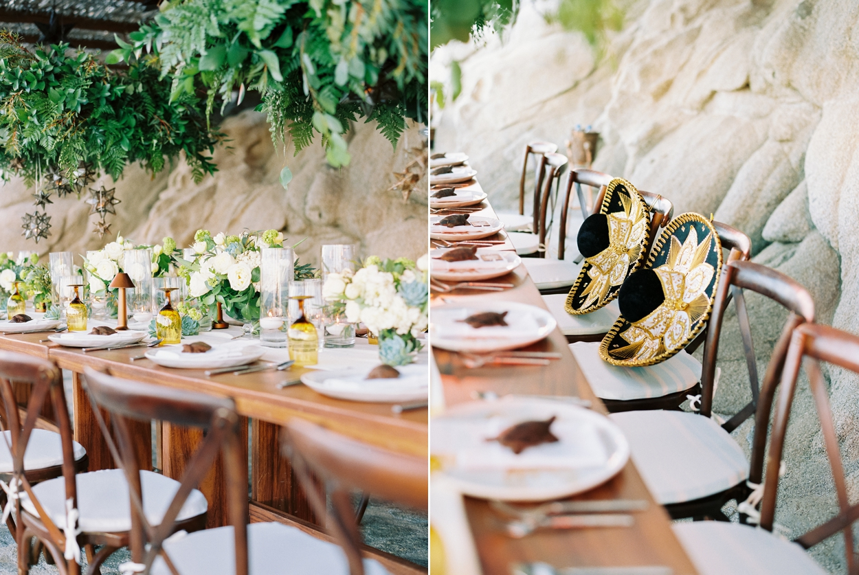 Cliffside Wedding Reception