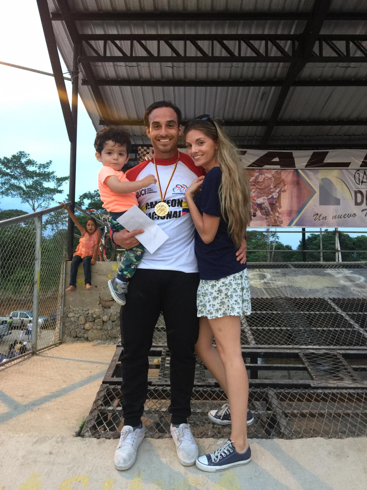 Emilio Falla y Familia