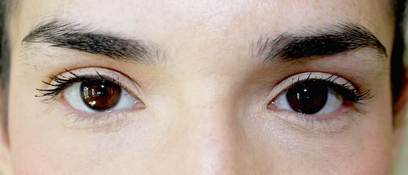 BEFORE BROW SHAPING
