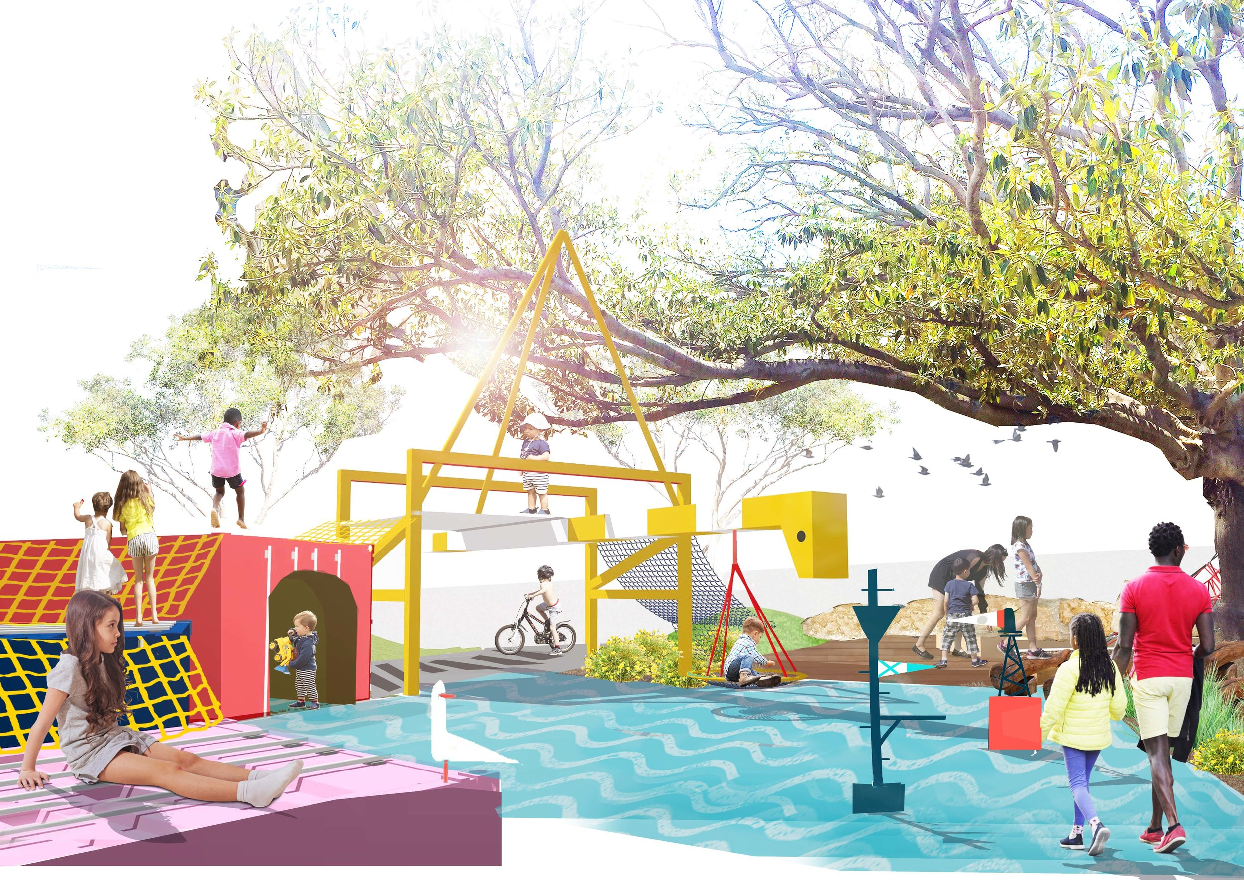 Kings Square Playspace -