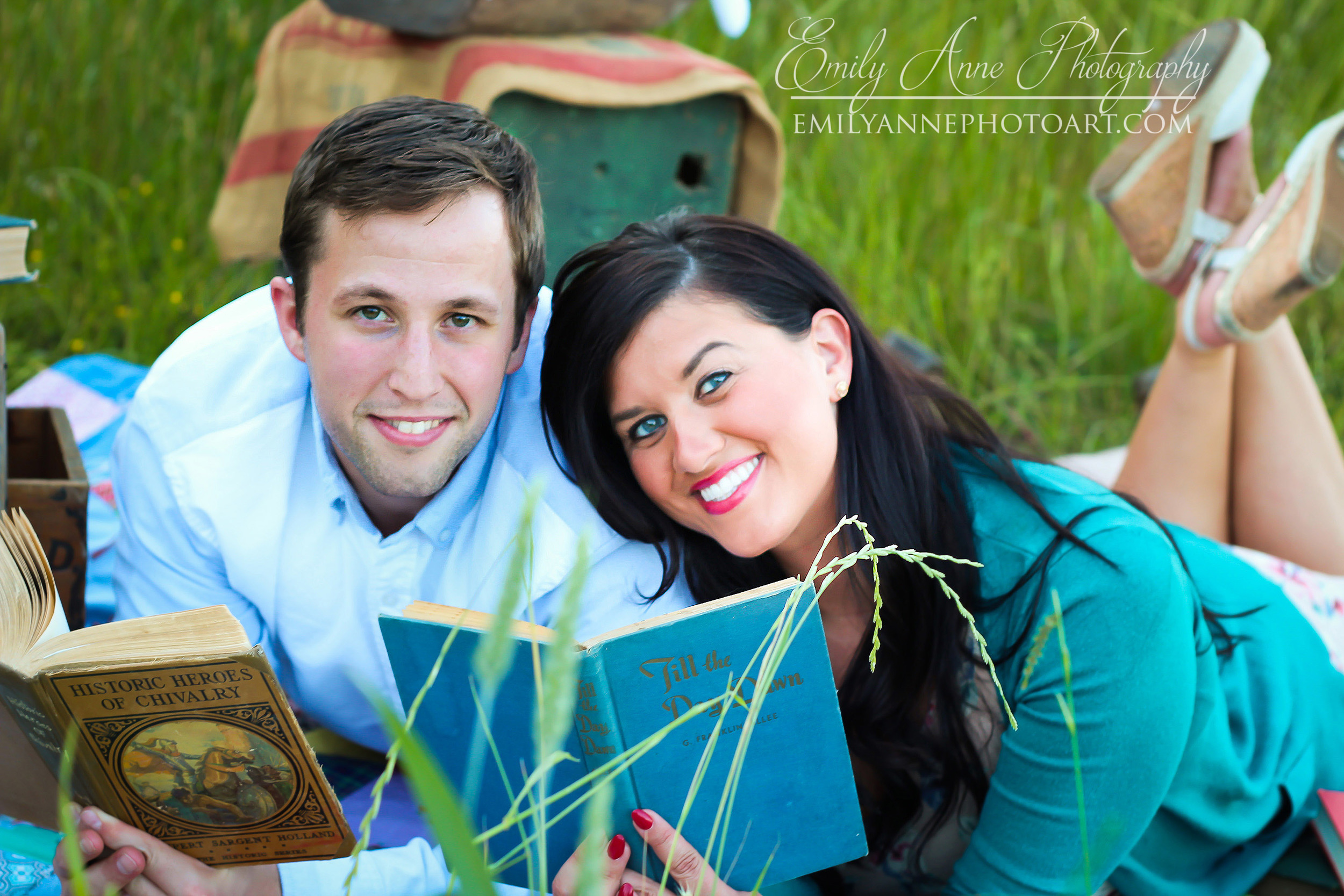 To get this shot, I basically laid in the grass to get an earthy, close & artsylook... and I love how it turned out.