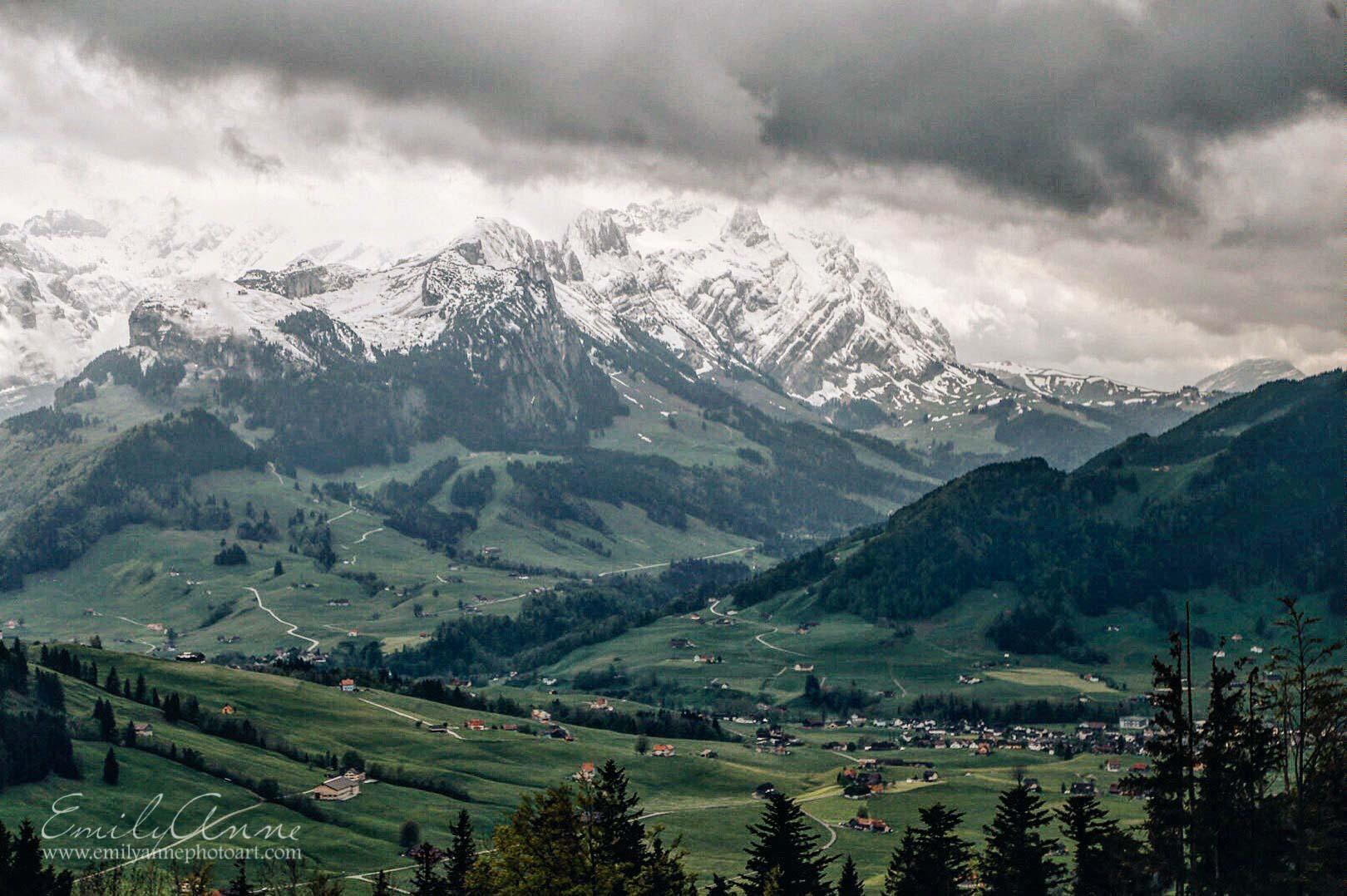 best photos of the swiss alps, shot in appenzell switzerland