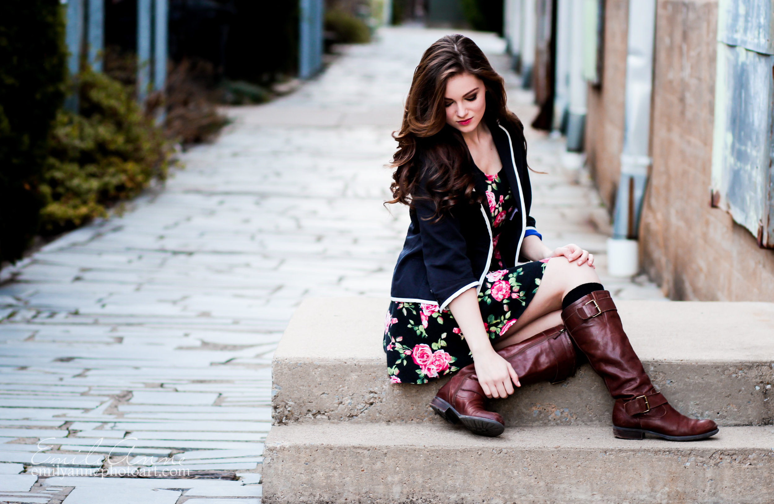 best senior portrait photographer emily anne photography in franklin, brentwood and nashville tennessee