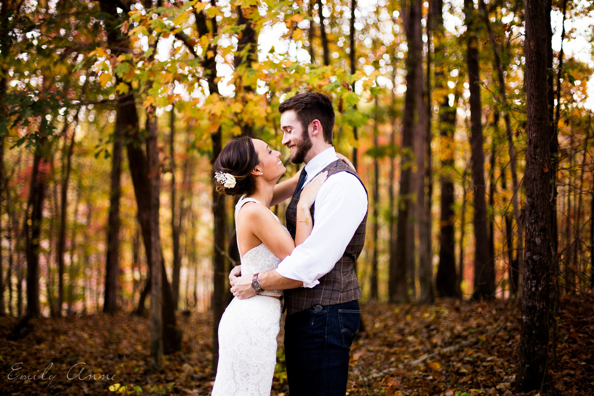 best autumn rustic wedding in the heart of tennnessee leipers fork outside of franklin by top wedding photographer and videographer emily anne