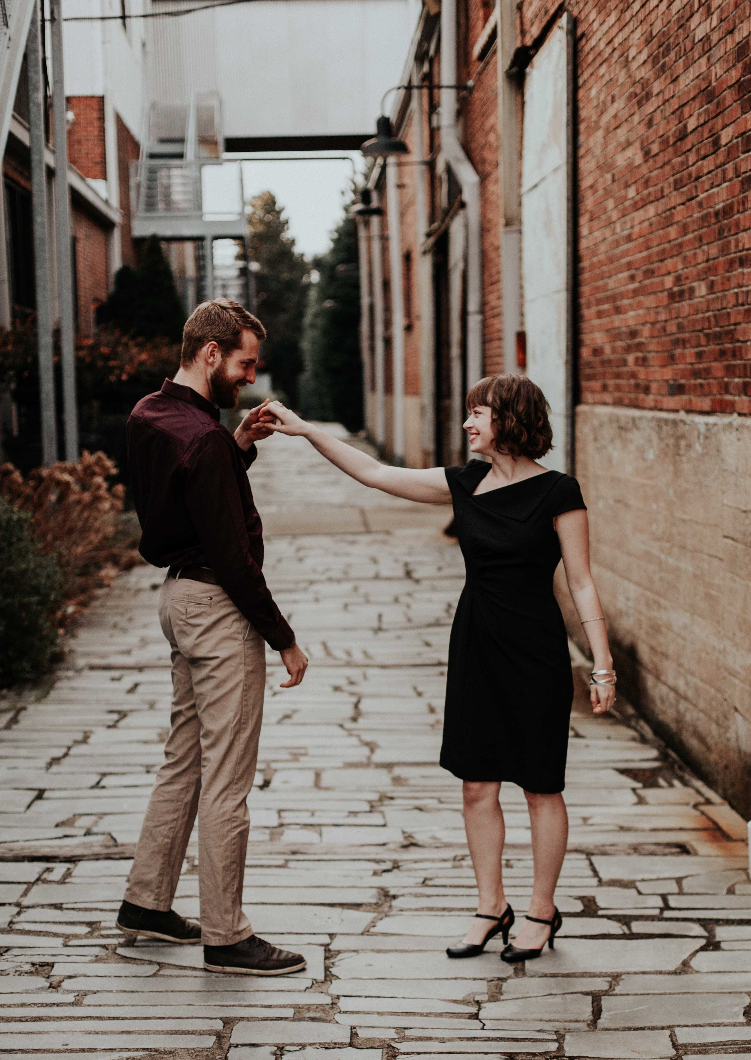 dancing posing for couples top rome italy wedding destination photographer nashville tn emily anne photography