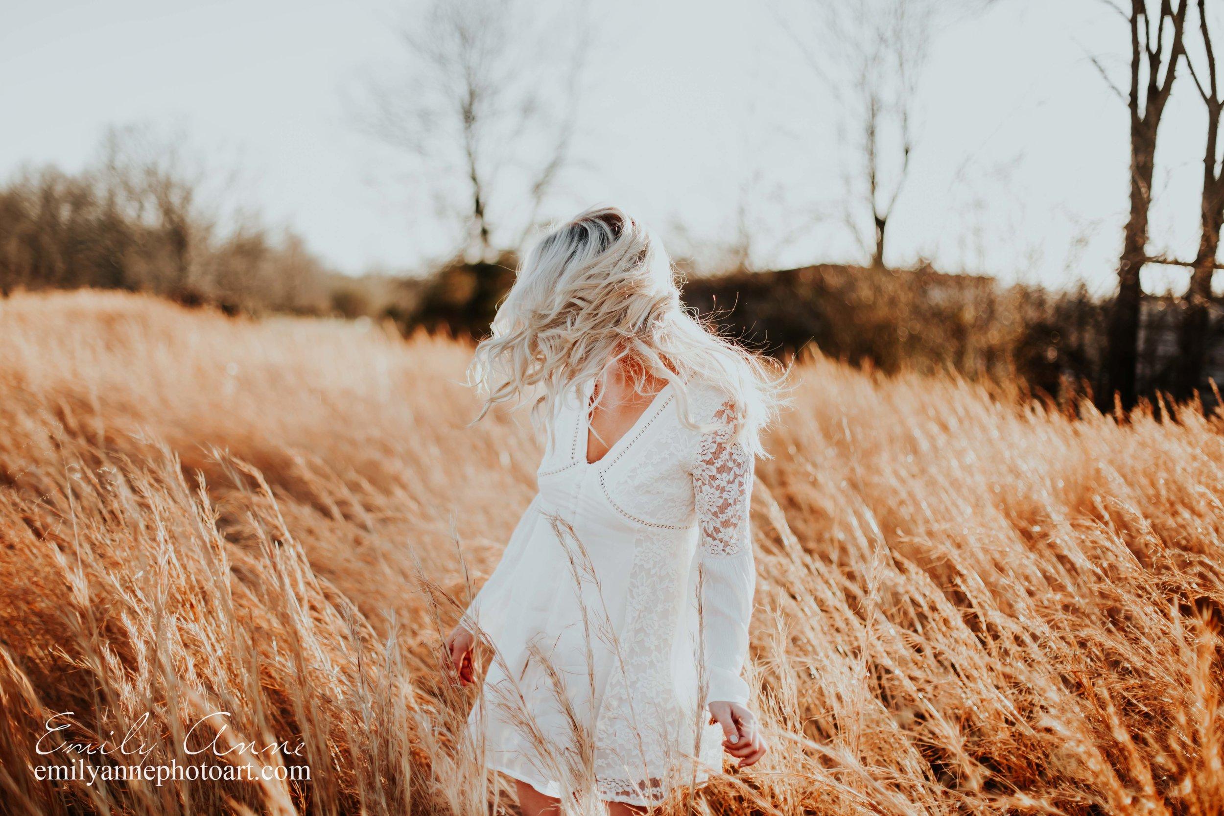 fun golden sunset senior portrait photography nashville/franklin/brentwood tn