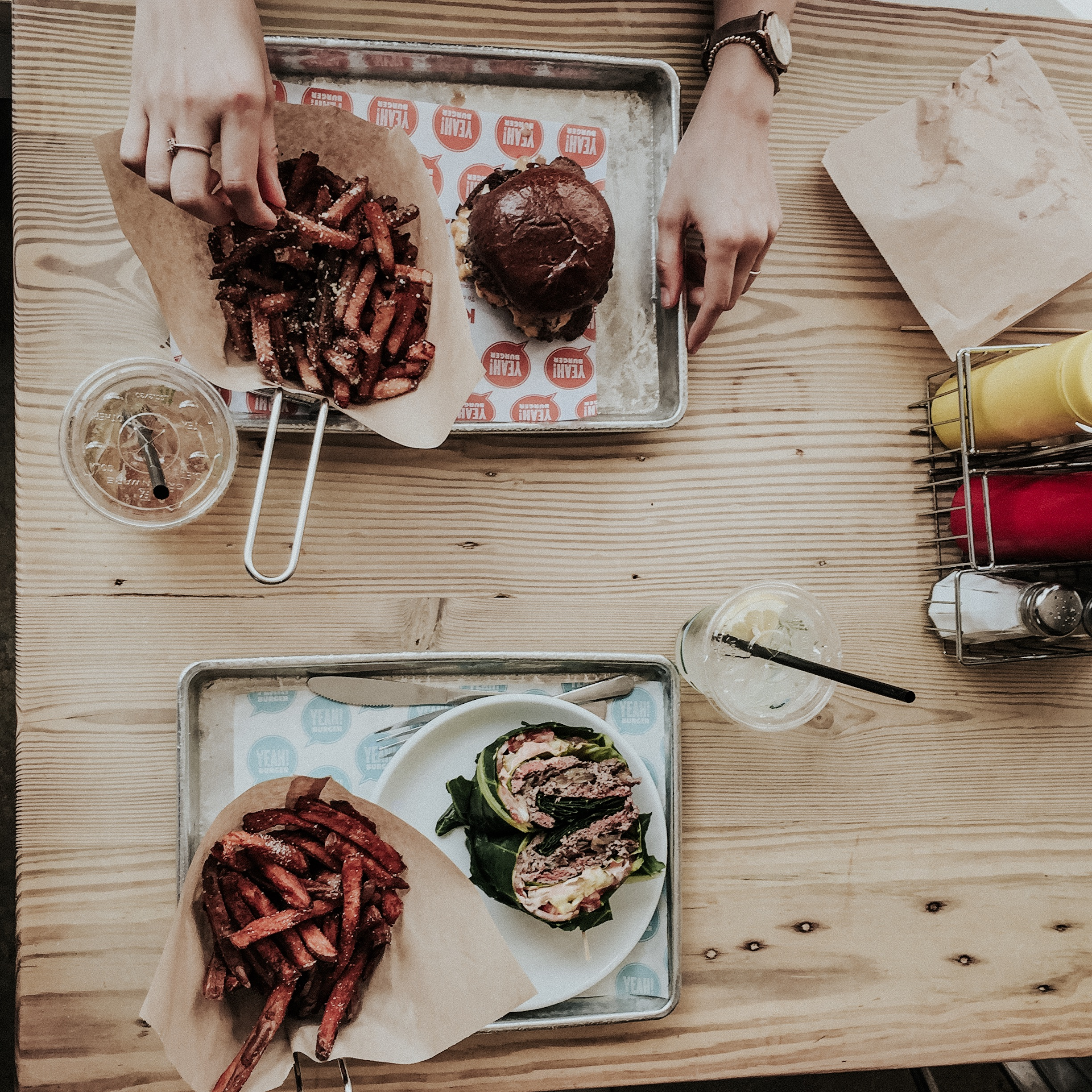 yeah burger photography by emily anne photo art best food photographer nashville and atlanta