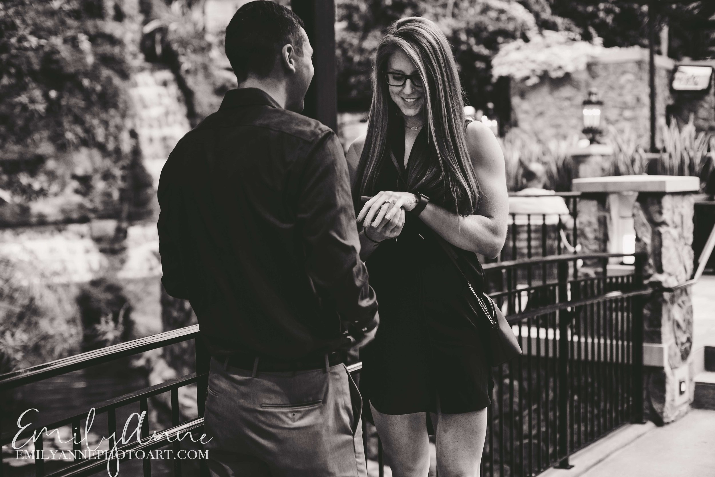 engagement proposal photography nasvhille candids