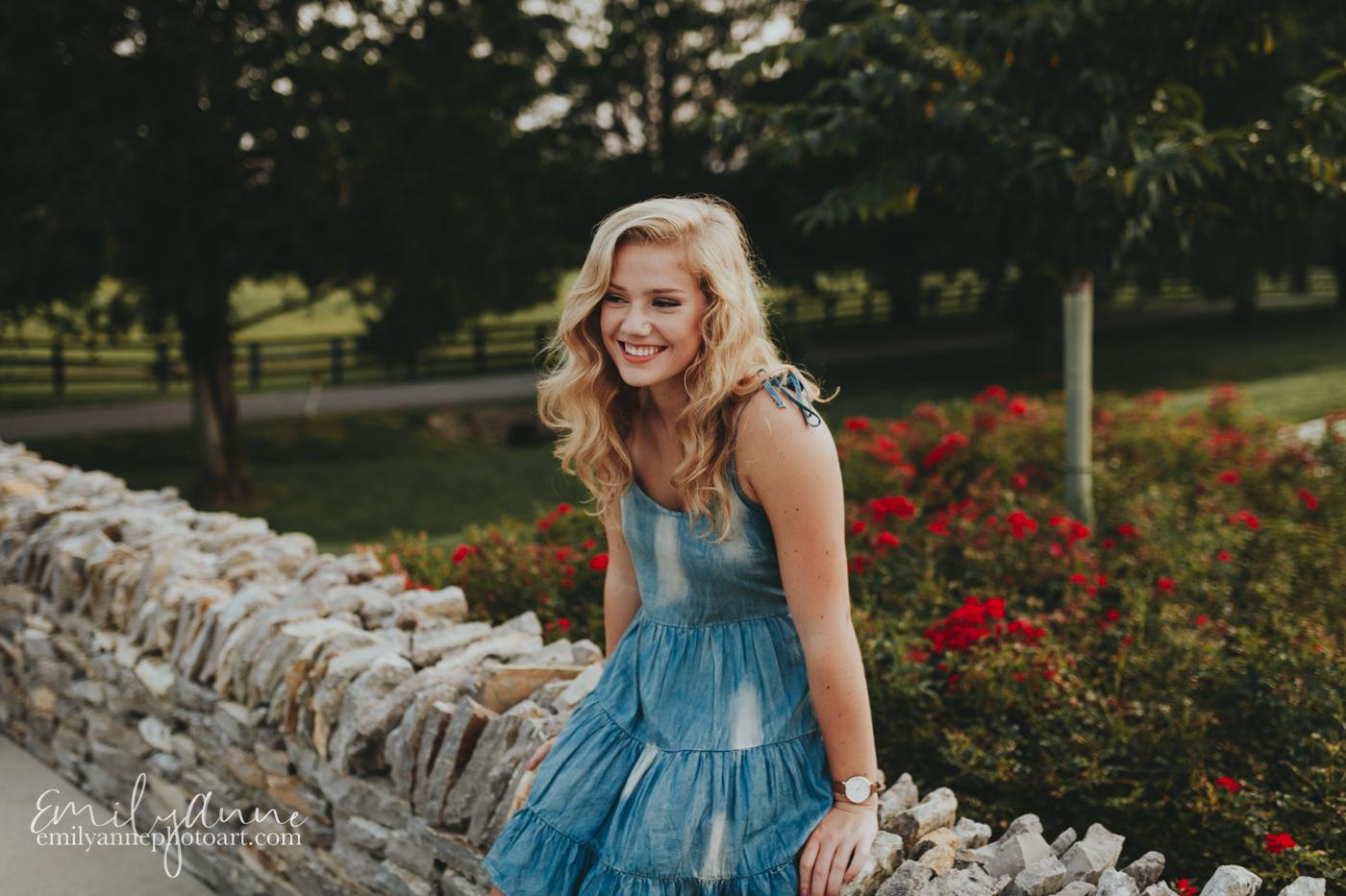 adorable senior girl top senior portrait model photographer Emily Anne Nashville, Birmingham and Atlanta