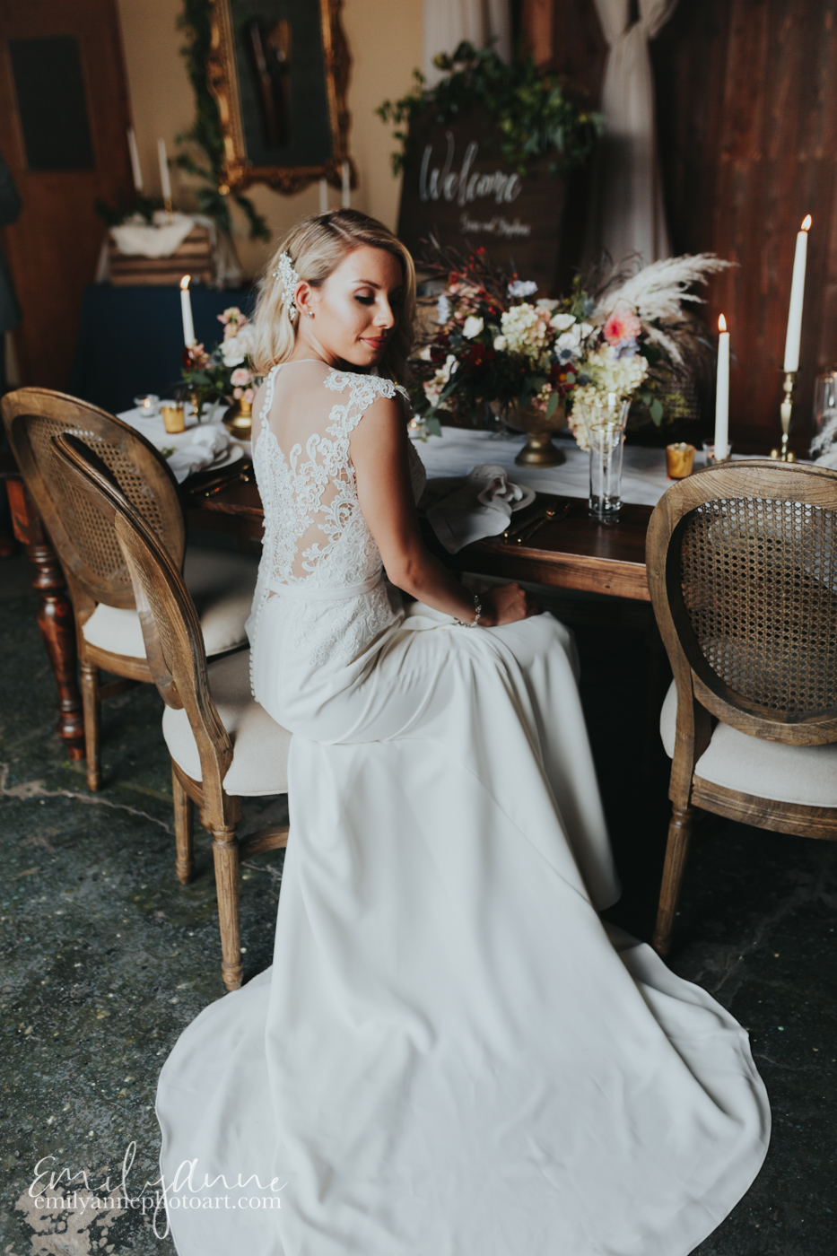 best bridal portraits wedding photography most beautiful bride in Nashville at coolest venue in Nashville-Foundry Events- perfect for weddings and parties - by best wedding photographer Emily Anne