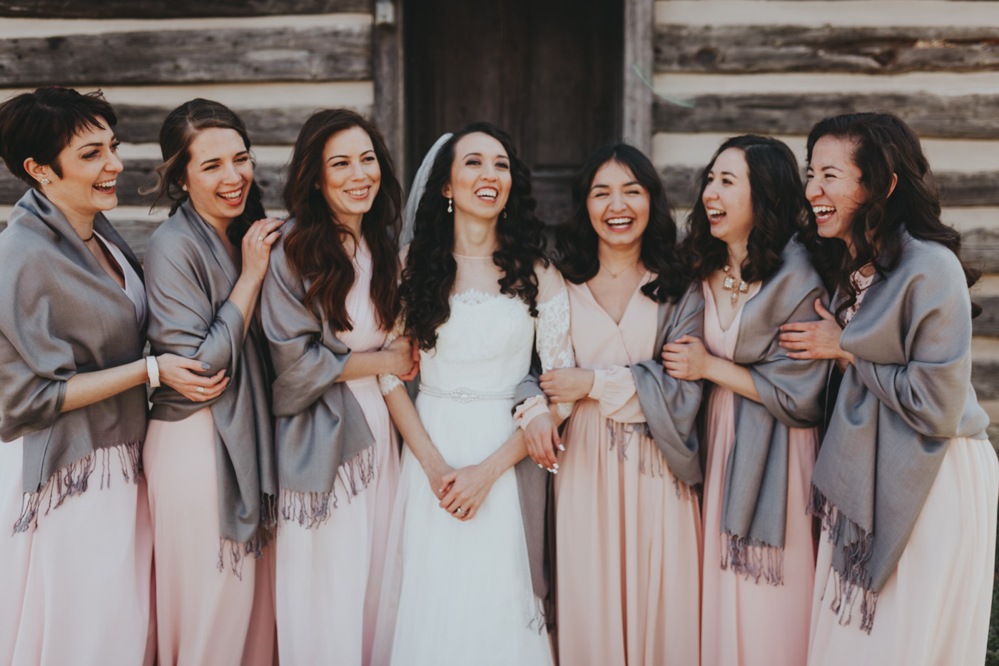 best laughing bridesmaids pic Emily Anne photo art hispanic weddings/weddings in Nashville