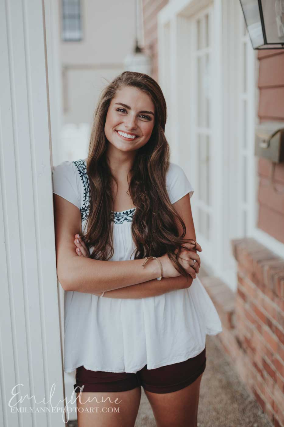 absolutely gorgeous senior portraits in downtown Franklin TN Emily Anne photo Art