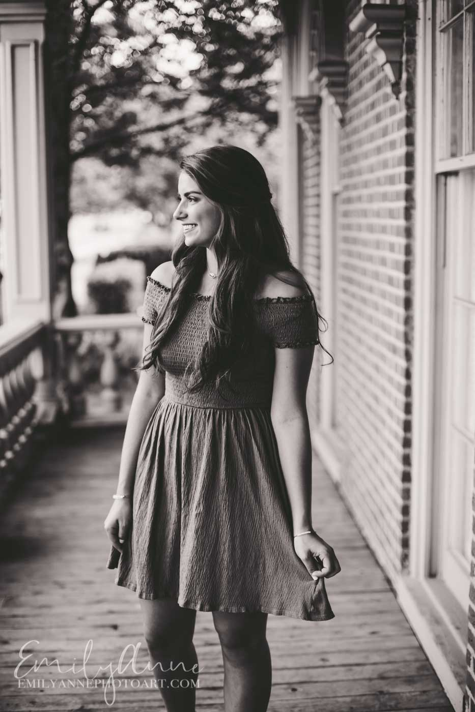 black and white classic portraits Battle Ground Academy/Franklin TN photographer Emily Anne Photo Art Nashville TN