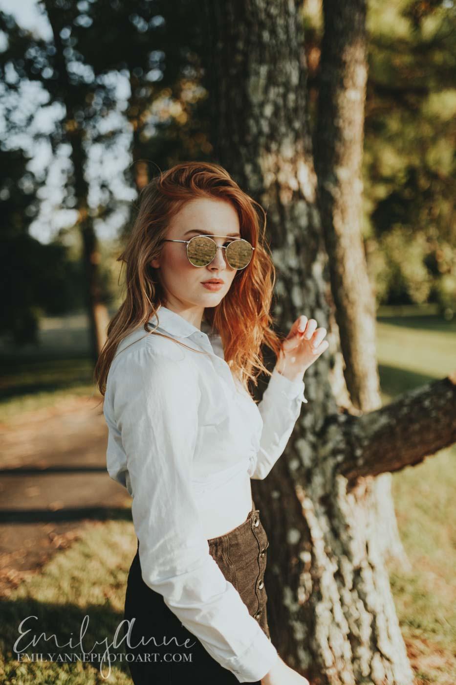 modeling/senior portrait photography Emily Anne