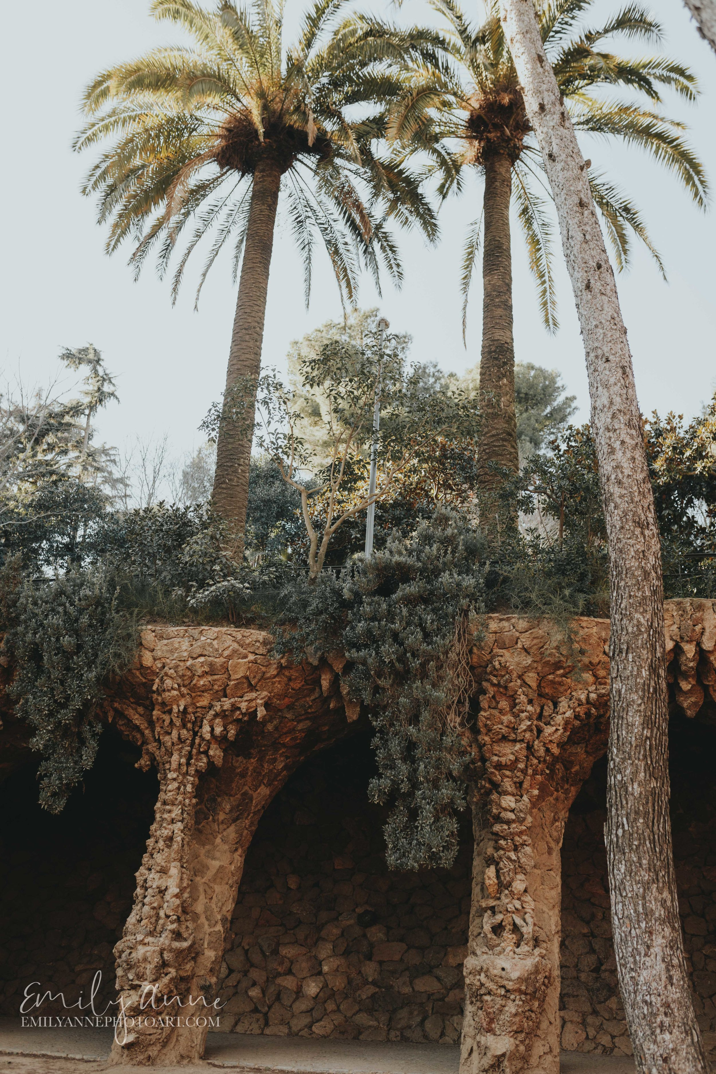 number 1 best park in Barcelona Parc guell by Nashville Barcelona Photographer/fotografo Emily Anne Photo Art