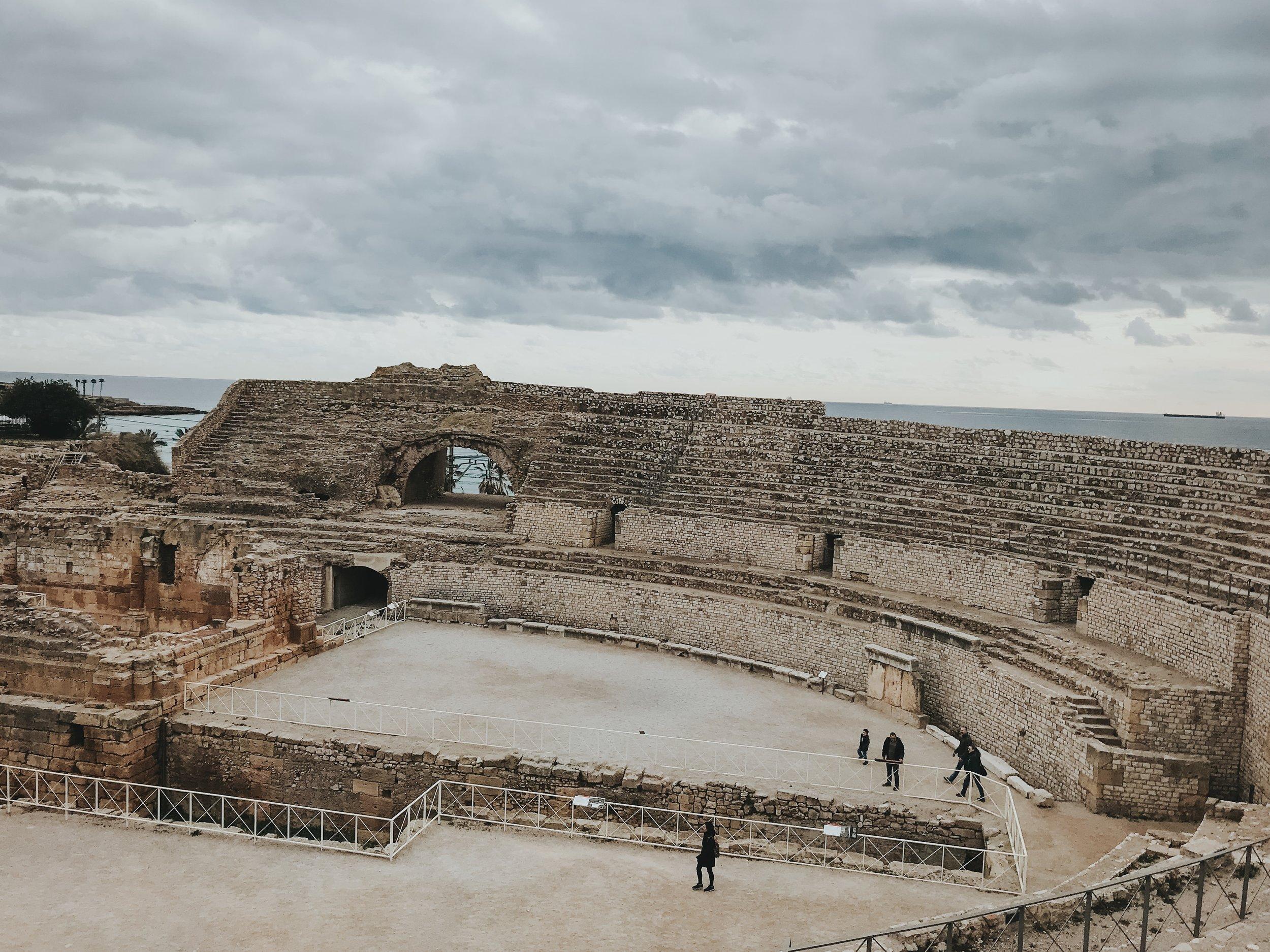 Tarragona spain roman ruins