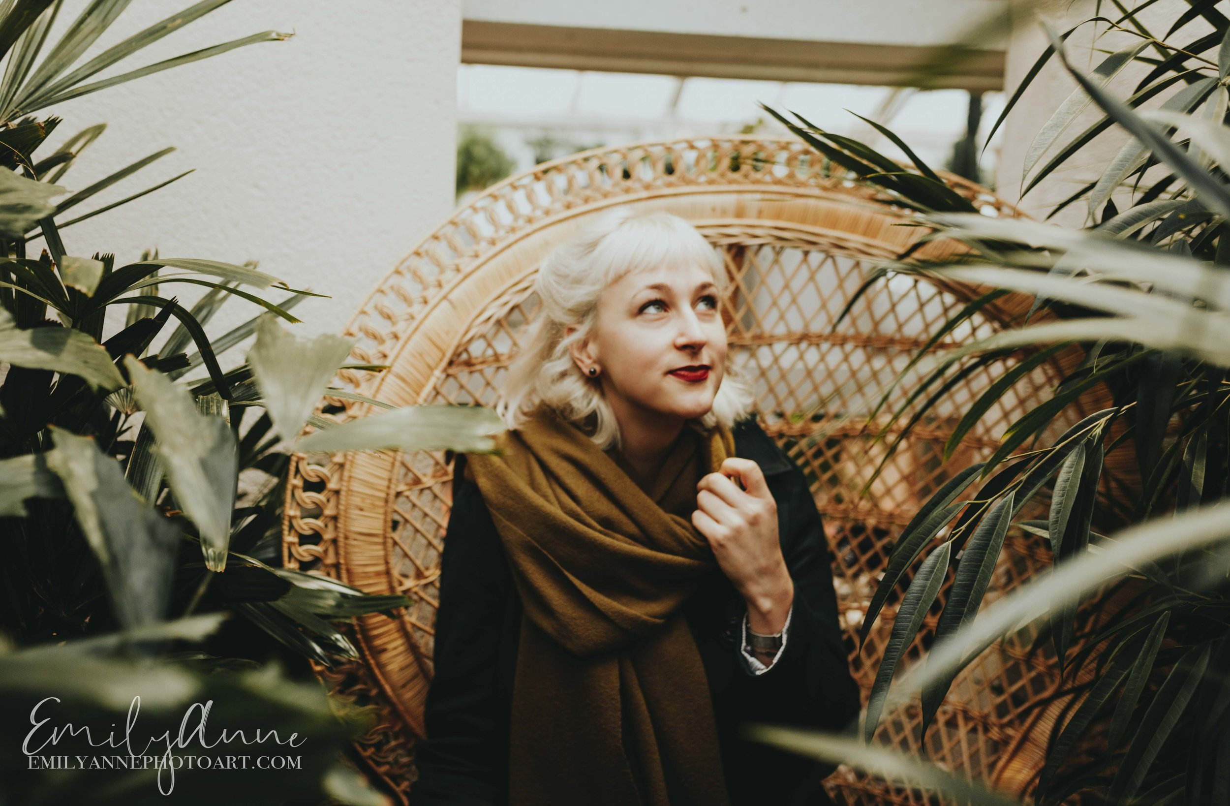 in the garden inspired model shoot Clifton Nurseries London UK by Nashville Barcelona Portrait Wedding photographer