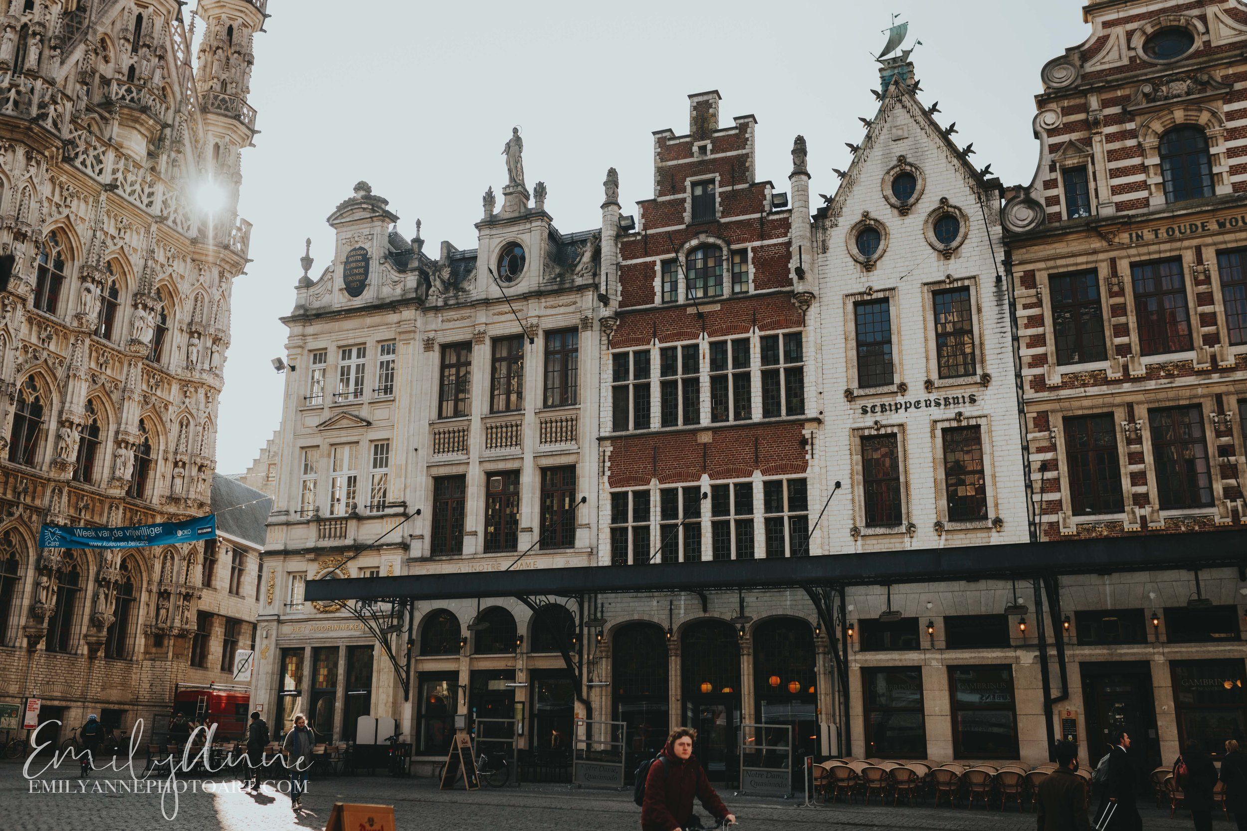 top reasons why to visit European city Leuven by Portrait Wedding Photographer Barcelona & Nashville European Belgium Photographer