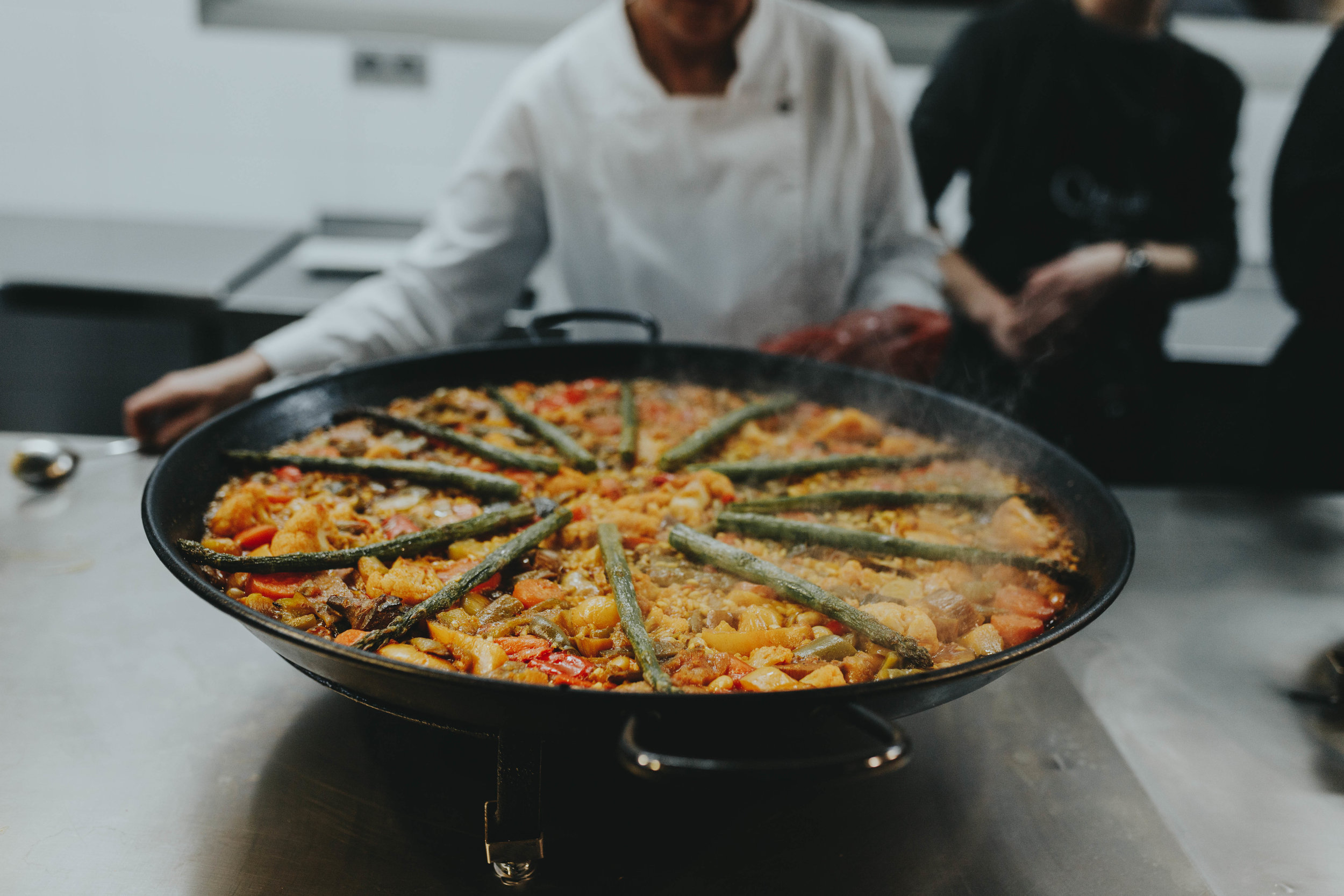 valencia Spain paella making school Ciee best things to do by portrait wedding Barcelona European Photographer from Nashville Emily Anne