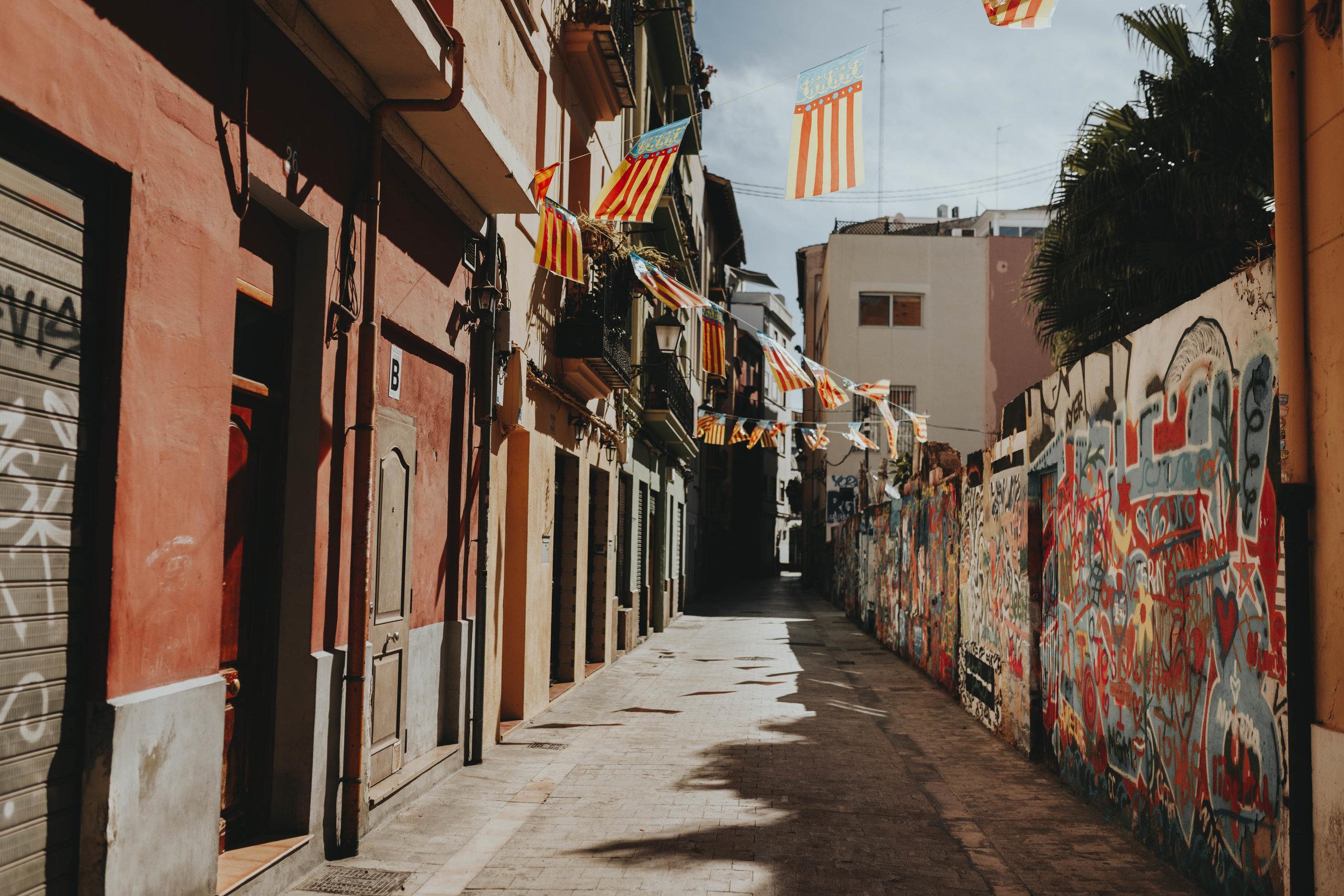 art graffiti tour in valencia spain - best weekend trips from Barcelona by Emily Anne Photo Art Photographer portrait & Wedding